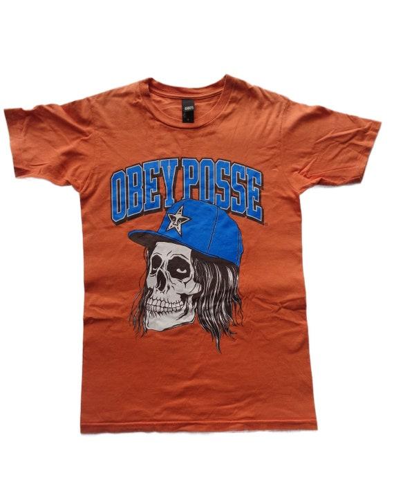 Vintage Obey Posse men's shirt