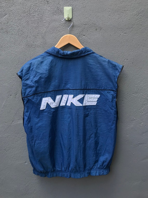 Vintage Nike Block Windbreaker Colour block Sleeve