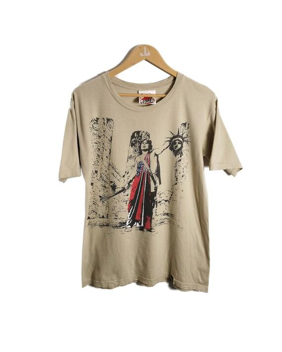 Vintage X Large x New World Order Liberty T shirt