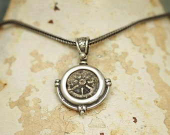 5141 Widow's Mite Silver Necklace