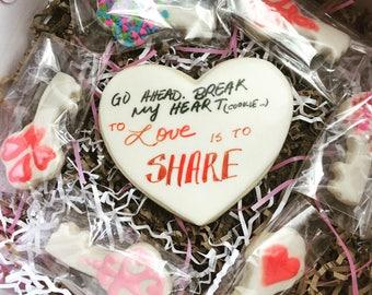 Large Valentines Cookies Batch