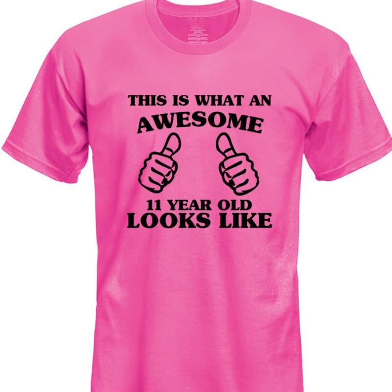 Eleventh Birthday Shirt 11 Year Old Gift Boys