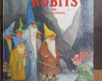 The Hobbit by J. R . R . Tolkien   book , y 1991 first edition in Latvia