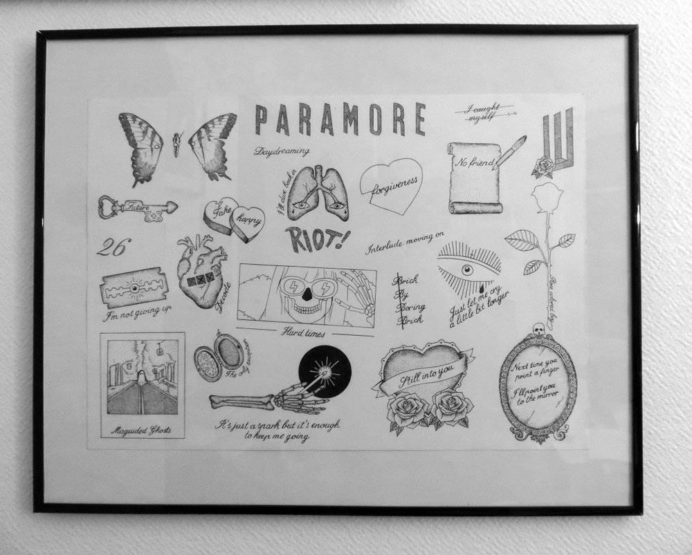 Paramore print