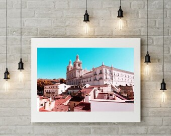 Vibrant Lisbon Photographic Print, Portugal, Travel, Adventure, Urban Photography