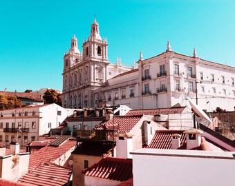 Vibrant Lisbon Photographic Print
