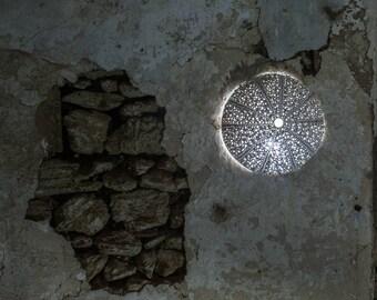 MARE URCHIN - Ceramic design lamp by Luigi Martina