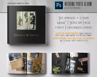 "Digital Wedding Album ""Realistic"" 