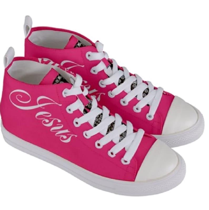 Donne personalizzate Mid-Top Canvas Sneakers Arriva in 1BXGrPRa