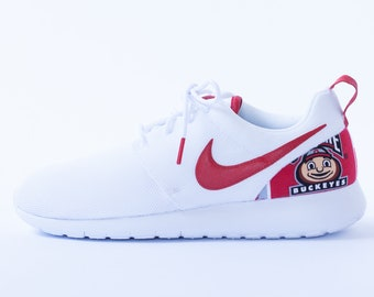 huge selection of 17be9 6c915 Ohio State buckeyes Custom Nike Shoes handmade edition w  custom insoles  available in all sizes