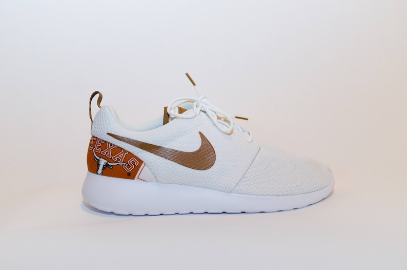 low priced b7d0e 26f9f Texas Longhorns Custom Nike Shoes handmade edition w  custom   Etsy
