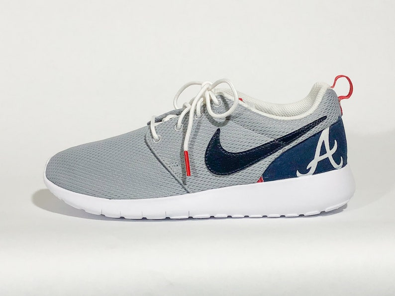 f533879a1b503 ATL Braves Custom Nike Shoes handmade edition w/ custom insoles available  in all sizes