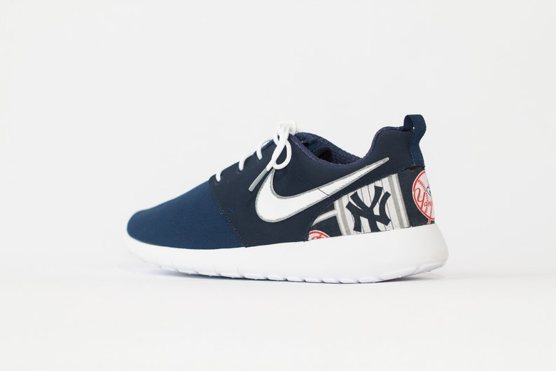 3fc7d7a5 New York Yankees Custom Nike Shoes handmade edition w/ custom insoles  available in all sizes