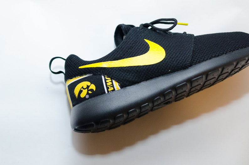 new style 6bb4e 5b993 Iowa Hawkeyes Custom Nike Shoes handmade edition w  custom   Etsy