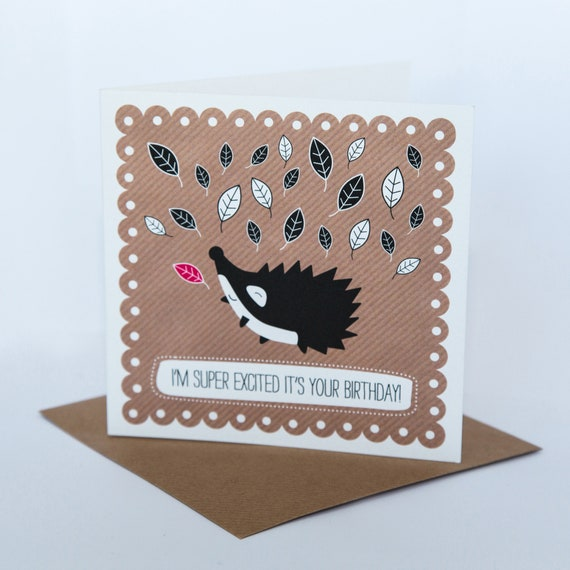 Happy Birthday Card Birthday Cards Greeting Card Puns Cute Etsy