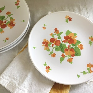 Vintage Dinnerware Collectible China 3 Taylor Ironstone Mountain Meadow 10.5 Dinner Plates Retro Dinner Plates Set of Three
