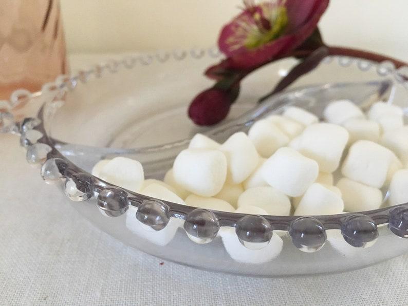 Candlewick Glass 2 Part Relish Dish