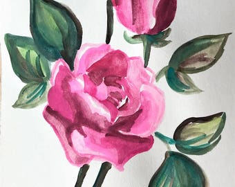 Brightwell's Roses Notecards