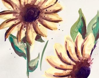 Sunflower Notecards