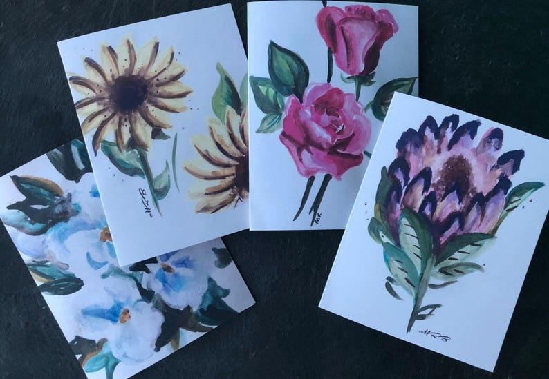 Flowers Notecards