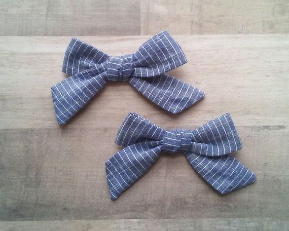 School Girl Pdf Pattern Bow Pattern Bow Tutorial Pdf Sewing Etsy