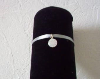 Gray star bracelet