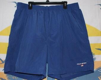 ae8d65634a Vintage Ralph Lauren Polo Sport Swim Trunks Shorts