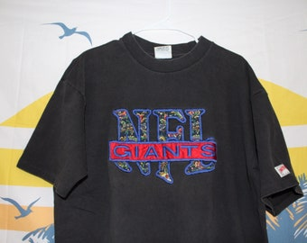 Vintage Embroidered NFL New York Giants T-Shirt