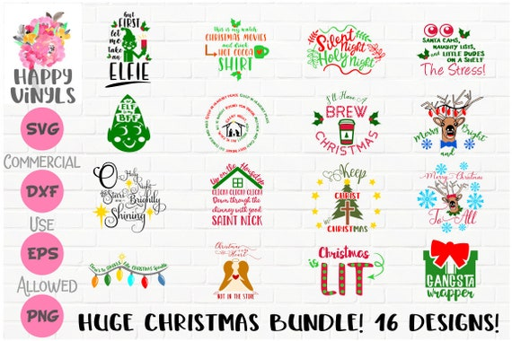 45+ Huge Christmas Bundle Svg Dxf Files SVG