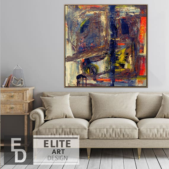 Colorful Abstract Dark Art