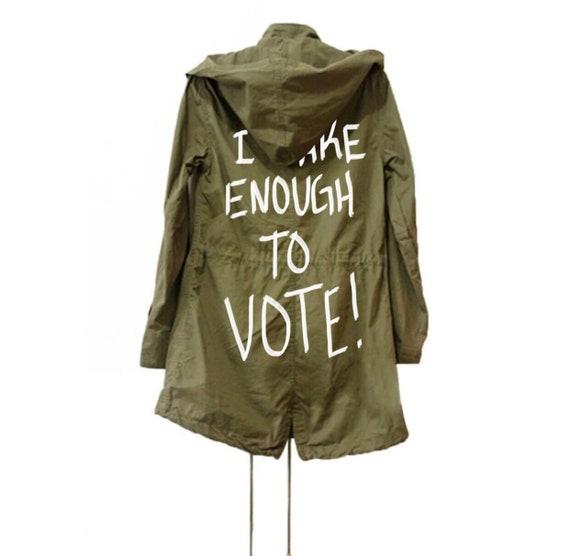 Melania Trump Care Veste Armée Vert I « Veste » Manteau xBw7qZa