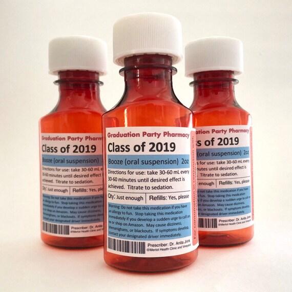 Medical Graduation Party Favors/ SHOT party favors/ Party Decorations/  Nurse / Doctor / Pharmacy / LPN / Medical School / Nursing graduation