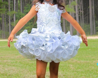 Natural Cupcake Pageant dress e59f36b9ceb2