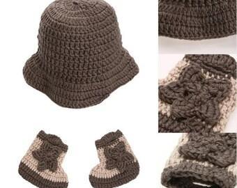 70dc6e36378b Knit cowboy hat