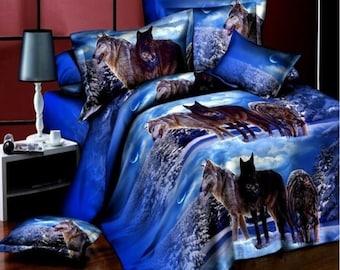 Tiger Bedding Etsy