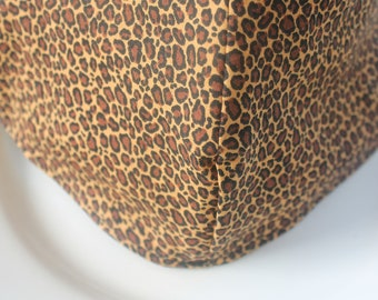 Face Mask with Filter Pockets, Leopard Face Mask, Reusable Face Mask, Made in the USA Face Mask, Double Layer Face Mask