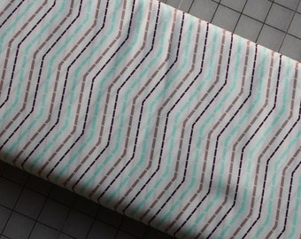 Moroccan Streets Day Stripes Art Gallery Fabrics by Patricia Bravo, Premium Cotton Fabrics, Quilting Fabrics, Sewing Cotton Fabrics, Limited