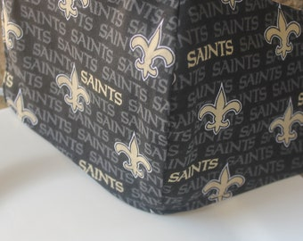 Face Mask with Filter Pocket  | New Orleans Saints Mask  | Reusable Face Mask | Three Layer Protective Face Covering  |  Sports Face Mask