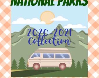 National Parks Yarn Club /Yarn Subscribtion/ Yarn of the month Club / Hand Dyed Yarn / Indie Dyed Yarn / Fingering weight yarn / sock yarn