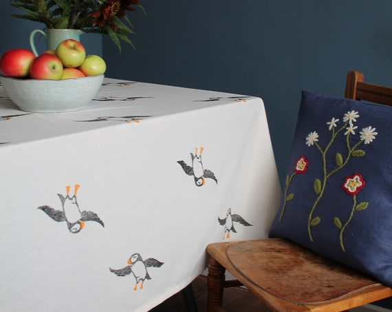 Puffin Tablecloth