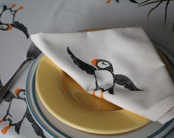 Puffin Napkins Set of Six