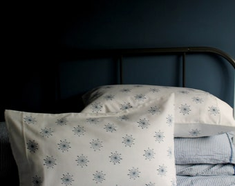 Pillowcases Pair - Ivy Flower - Organic Cotton