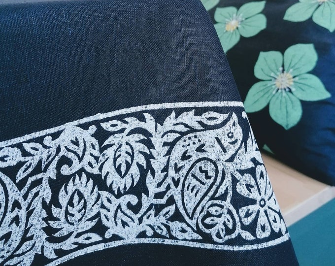 bluebird tablecloth navy