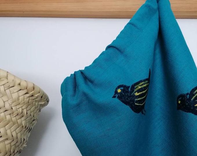 little bird linen bread/vegetable bag