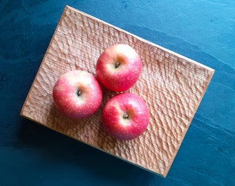 Cherry serving board or fruit bowl