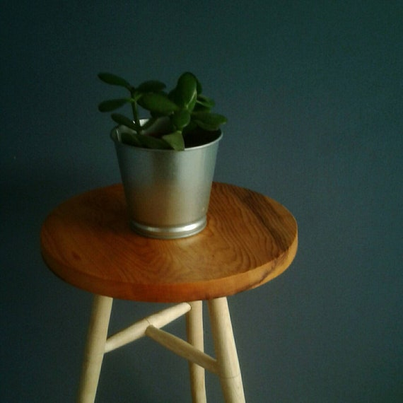 Yew and Ash Side Table