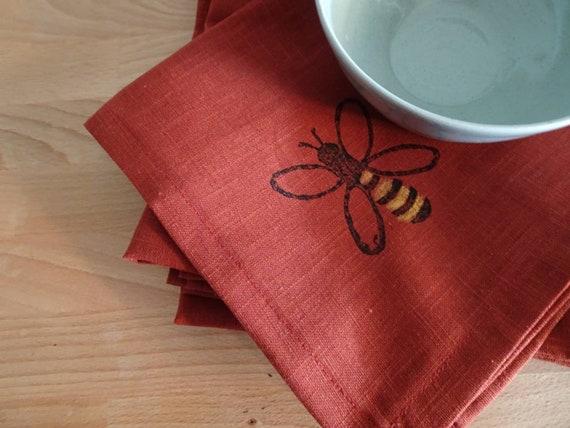 linen napkin bee