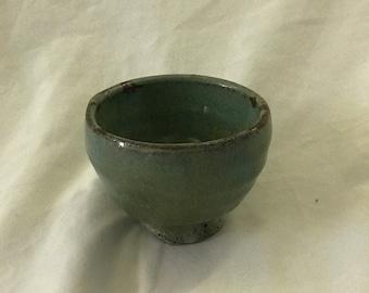 Handmade Teal Matcha Bowl