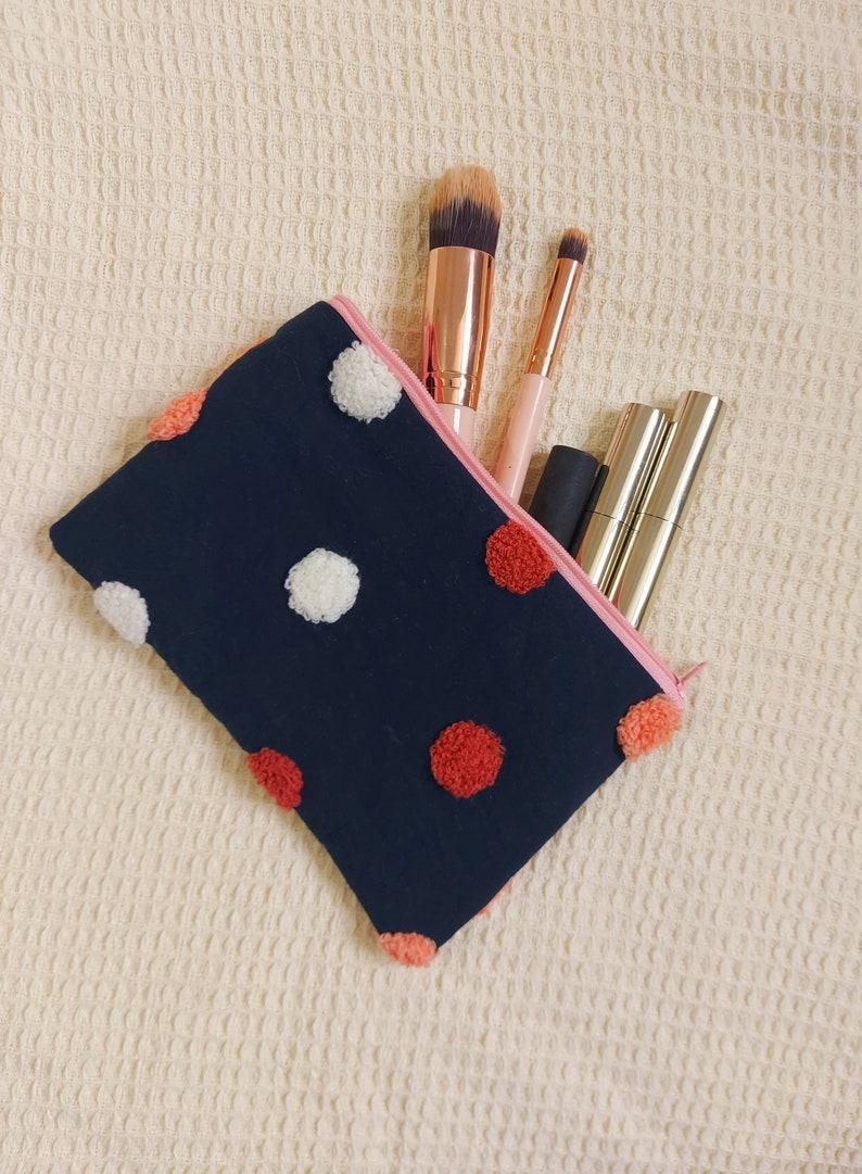Polkadot Zipped Makeup Bag *Limited Stock*