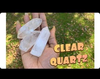 Clear Quartz Big Tumbler